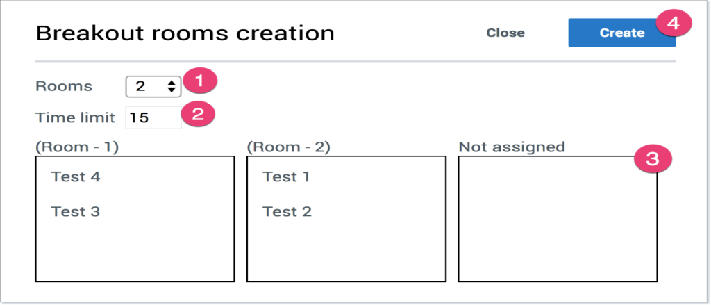 Create Breakout Room
