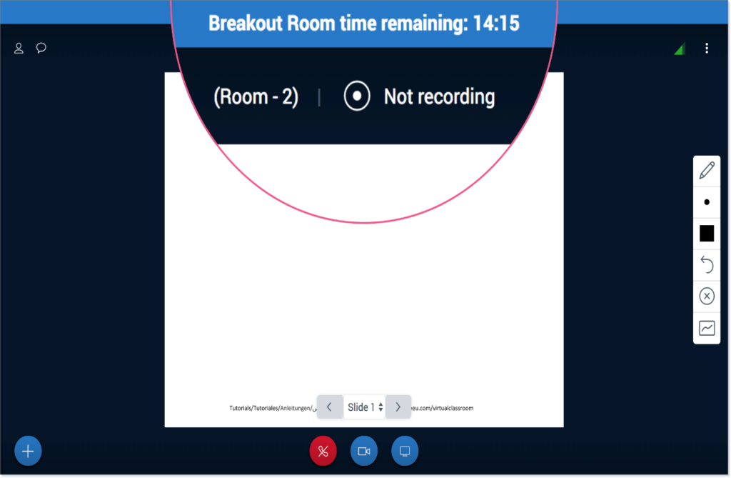 Breakout Room Time Remaining