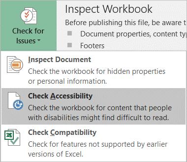 Inspect Workbook group screenshot