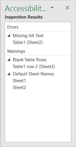 Check Accessibility menu item screenshot