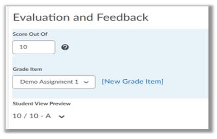 Grade Options