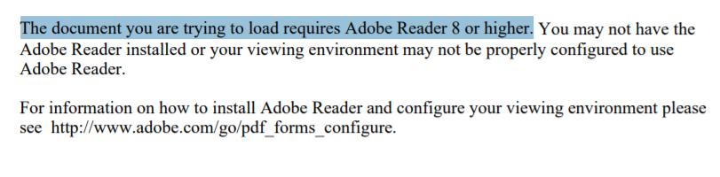 PDF Error in Microsoft Edge