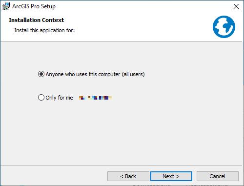 ArcGIS Pro 2.8 - Installation Context