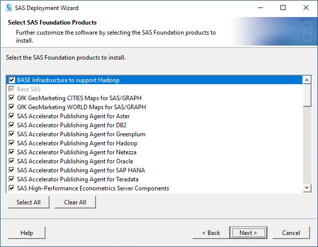 SAS 9.4M7 for Windows - Select SAS Foundation Products