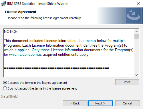SPSS Statistics 28 for Windows - Software License Agreement